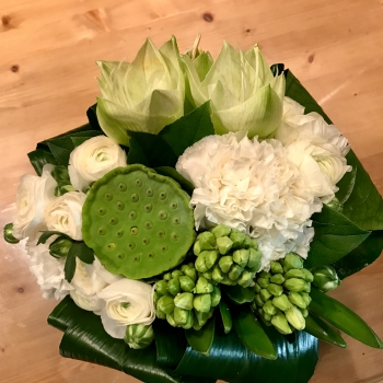 Petit Bouquet Blanc d'Hiver