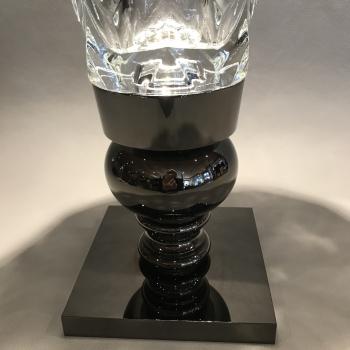 Baccarat Vase Canon de Fusil