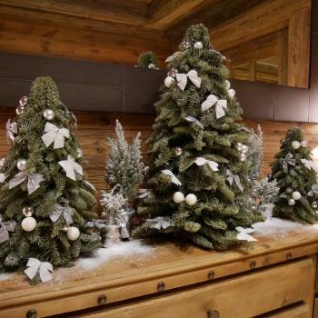 Рождественский декор в Куршевеле