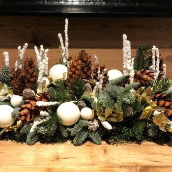 Décoration  de Noël  à Courchevel