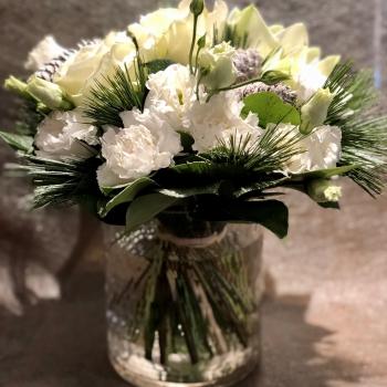 Small White Winter Bouquet