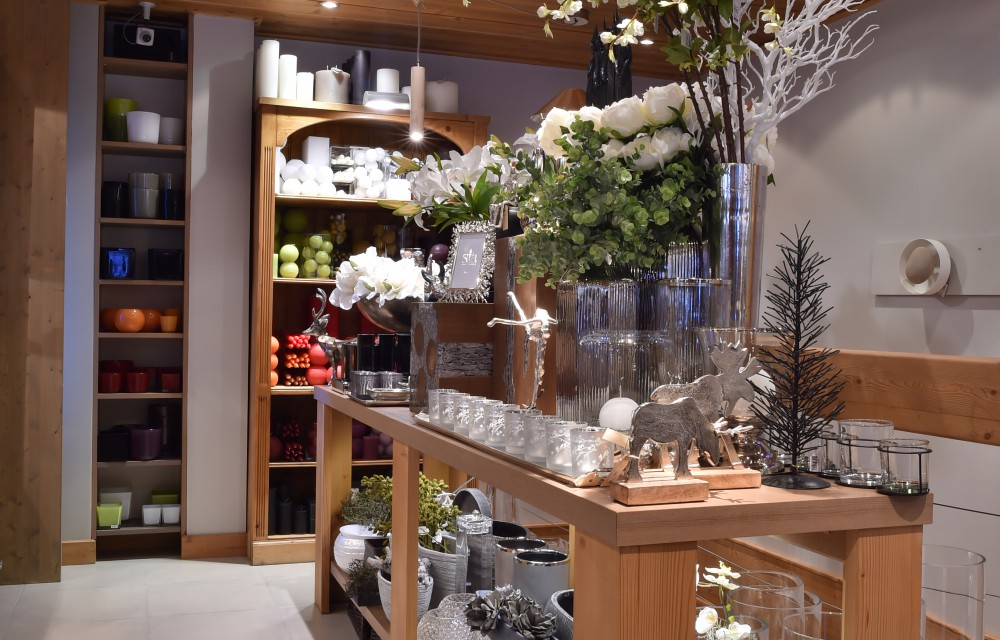 La boutique de décoration, Jasmine Fleurs à Courchevel