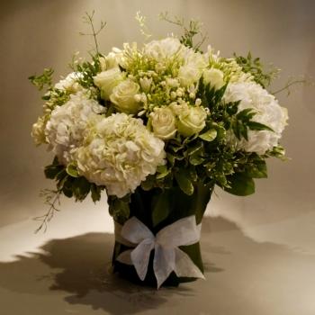 Свадебные цветочные композиции в Куршевеле